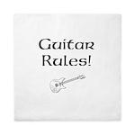Guitar Rules Queen Duvet