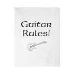 Guitar Rules Twin Duvet