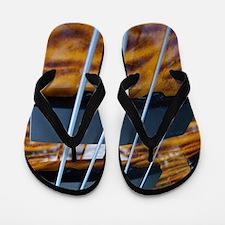 Four String Tiger Eye bass Flip Flops