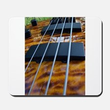 Four String Tiger Eye bass Mousepad