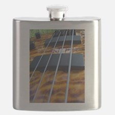 Four String Tiger Eye bass Flask