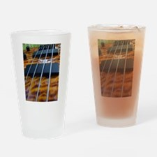 Four String Tiger Eye bass Drinking Glass