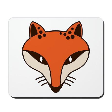 Fox Head Mousepad