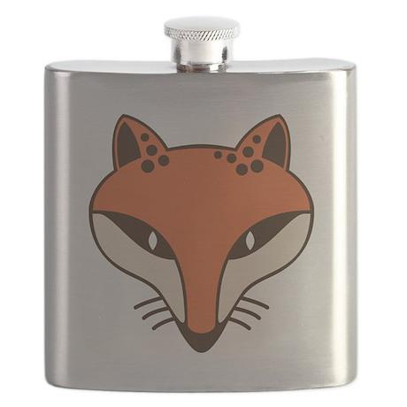 Fox Head Flask