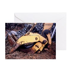 The Crane's Grab - Greeting Cards (Pk of 10)