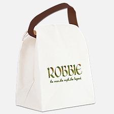 RobbieLegend.png Canvas Lunch Bag