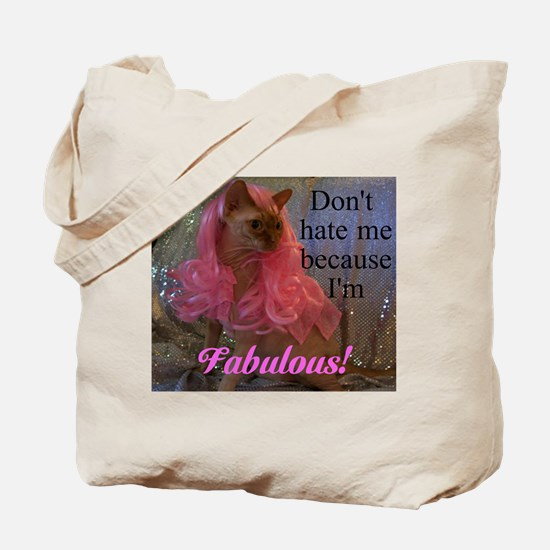 Fabulous kitty Tote Bag