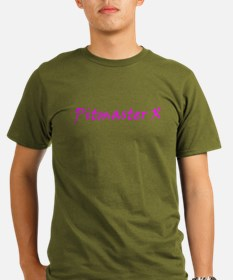 Pitmaster X pink no background color T-Shirt