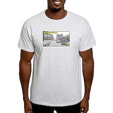 I Survived 77 (Buffalo, NY) Ash Grey T-Shirt