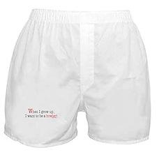 ... a bowler Boxer Shorts