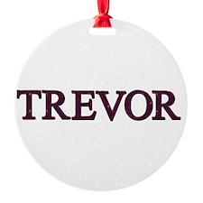 Trevor Ornament