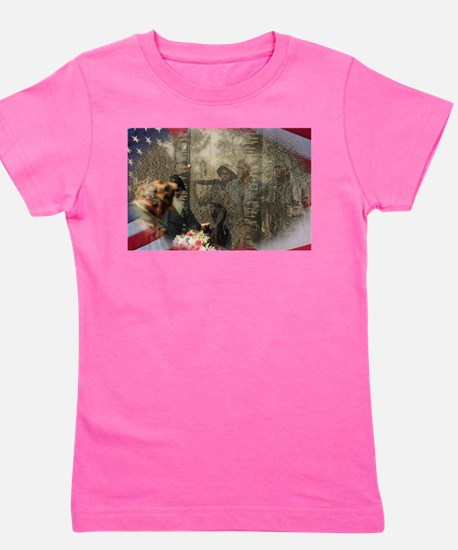 Vietnam Veterans Memorial Girl's Tee