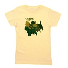 Cairn Terrier Silhouttes Girl's Tee
