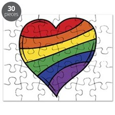 Rainbow Heart Puzzle
