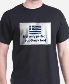 Perfect Greek Ash Grey T-Shirt