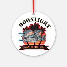 Moonlight V-22 Ornament (Round)