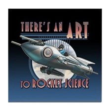 Art to Rocket Science Tile Coaster