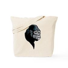 gorilla profile Tote Bag