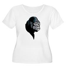 gorilla profile Plus Size T-Shirt
