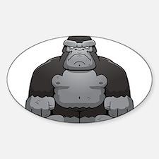 Standing Gorilla Decal