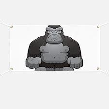Standing Gorilla Banner