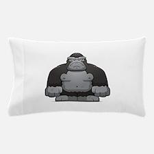 Standing Gorilla Pillow Case