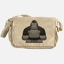 Standing Gorilla Messenger Bag