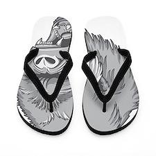 Angry Gorilla Flip Flops