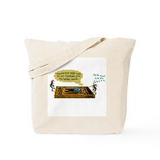 Frog Christmas Tote Bag