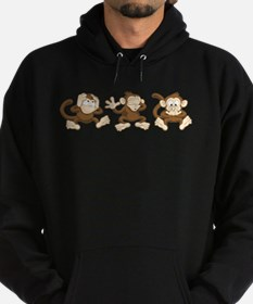No Evil Monkey Hoody