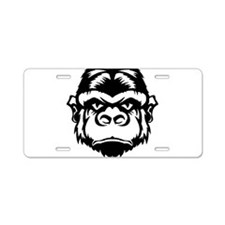 Ape Aluminum License Plate