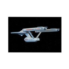 Original Series Enterprise Rectangle Magnet