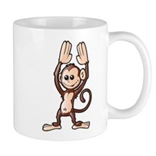 High Five Monkey Mug