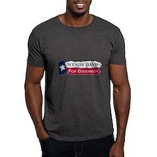 Wendy Davis Governor Texas Flag T-Shirt