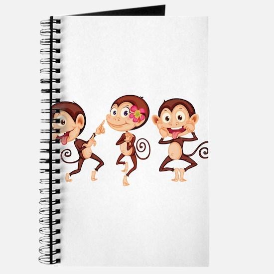 Trio of Monkeys Journal