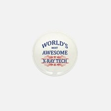 World's Most Awesome X-Ray Tech Mini Button (100 p