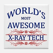 World's Most Awesome X-Ray Tech Tile Coaster