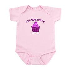 CUPAKE QUEEN Infant Bodysuit