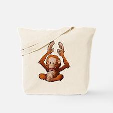 Baby Orangutan Tote Bag