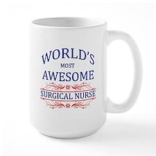 World's Most Awesome Surgical Nurse Mug