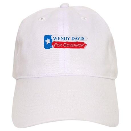Wendy Davis Governor Flag Texas Cap