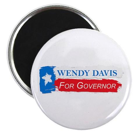 Wendy Davis Governor Flag Texas Magnet