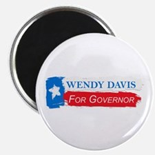 Wendy Davis Governor Flag Texas Magnet