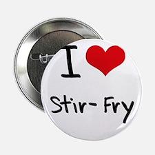 "I love Stir-Fry 2.25"" Button"