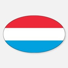 Flag of Luxembourg Decal