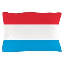 Flag of Luxembourg Pillow Case