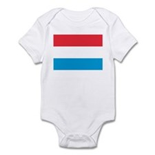 Flag of Luxembourg Infant Bodysuit