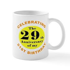 50th Birthday Humor Small Mug