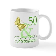 Fabulous 50th Birthday Mug