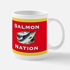 salmon nation flag Mug
